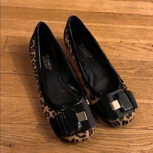 Franco sarto cheetah flats size 7